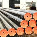 astm a500 de carbono sin soldadura de tubos de acero para la estructura de la tubería