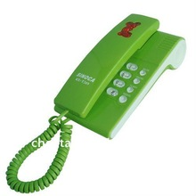 Cheap and popular trimline phone with crystal buttons for hotel/ bathroom phone/ lobby