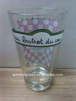 12oz Highball Glass/Longdrink Glassware with printing