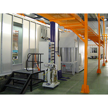 Powder Spraying Room and Powder Recycling System