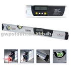 Digital level with laser level funtion