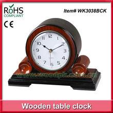 22x15.5cm Woodpecker anntique quartz wooden decoration desk clock mantel clocks