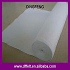 white polyester felt