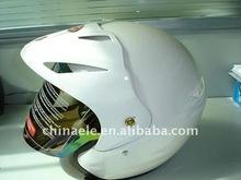 White open face helmets for motorcycle ,half helmet .motorcycle helmet