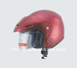 red Racing helmets