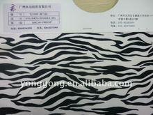 Animal zebra elastic nylon printed lycra wrap knitted super textil