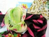 6mm pure organic silk chiffon fabric printing