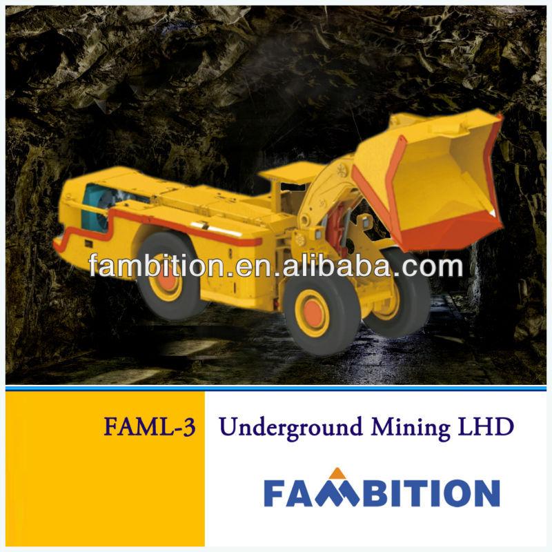 china articulated mining diesel LHD underground loader