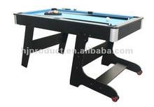 Factory wholesale best selling type indoor home play small size cheap folding Pool table