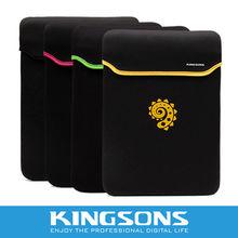 "2012 Newest Design Kingsons Brand Neoprene & Waterproof Laptop Sleeve,Neoprene Sleeve for ipad 2 KS6191V 9.7""/14.1"""