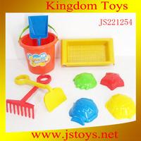 plastic sand beach toys set for kids