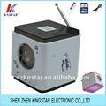 Bolso caixa de som com rádio fm receptores sn-988