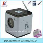 pocket sound box with fm radio receivers SN-988