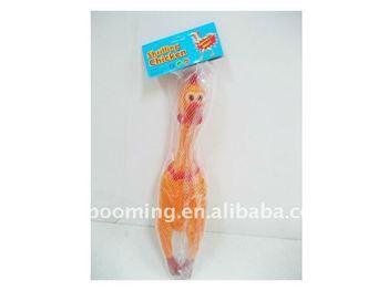 Promotion Shrilling Scream Rubber Chicken, Special Bellow Chicken