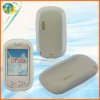 For OT708 clear white soft rubber case silicone mobile phone cover