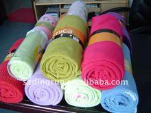 100% Polyester promotional blanket