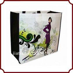 eco Laminated PP woven shopping bag