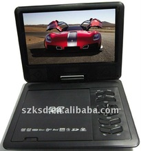 portable dvd player with tv tunner hot selling