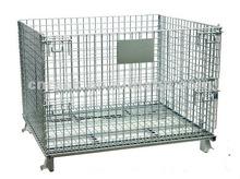 warehouse wire pallet basket