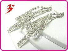 new fashion rhinestone bar chandelier earring (E100862)