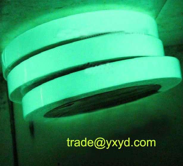 Azul, Auto-adesivo verde noite glow in the dark fita etiqueta