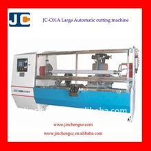 JC-C01A Automatic Paper log rolls cutting machine, paper roll cutting machine