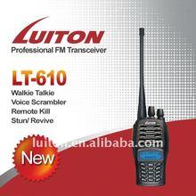 2 meter handheld radios with scrambler function + 256 channels