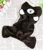 Dimensional Black Dog Pet Skirt Ladybug
