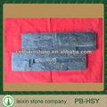 Natural de cuarzo negro/natural de cuarzo negro chapa de piedra/negro natural de cuarzo de piedra culturales
