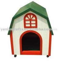 Coustomized wooden dog house