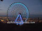 Panoramic sightseeing mini game wheel amusement ride 62m