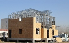 light steel structure villa,prefabricated house,steel structure building