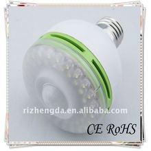 2012 E27/E26 light and body infrared Led Bulb DC12V