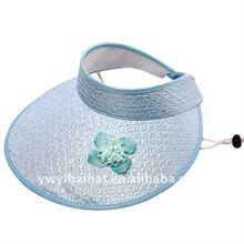 White sun visor caps wholesale