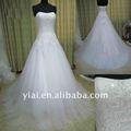 jj2727 perlé robe de bal robe de mariée sexy 2013 longue queue