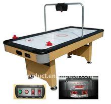 E-counter air hockey game
