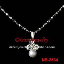 hot sale pearl pendant necklace