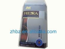 2012 hair extension packaging box