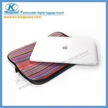 Neoprene notebook sleeve for macbook
