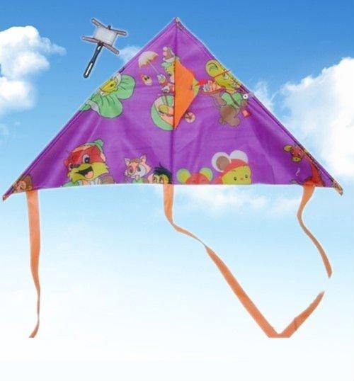 Colorful delta kite children kite