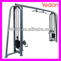 ajustable cable crossover gimnasio de la máquina