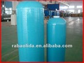 Blue glass fiber reinforced plastic resin tank