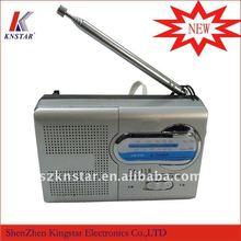 am/fm radio slim style 2 band DA-118