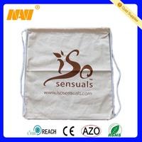cotton drawstring shoe bags (NV-6085)