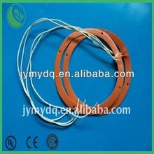 110v/220v round silicone rubber flexible hot pad