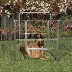 outdoors durable and nice foldable exercise pen for different ages of dog