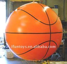 2012 basketball inflatable helium balloon