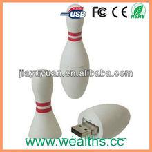 Custom Design Bowling Pins USB Pen Drive 2.0