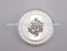 2015 hottest sale 12 zodiac pattren silver coin 999