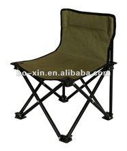 green iron square folding beach chair,CY-8086